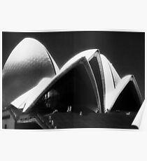 Opera House steps Poster