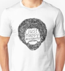 Bob Ross - Just Happy Accidents Face  Unisex T-Shirt