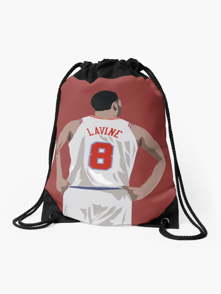 Zach Lavine Back To Drawstring Bag By Rattraptees Redbubble