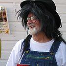 Grandpa Playing dressup by Jeannie Matthews