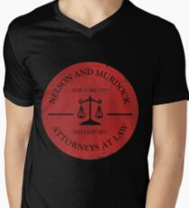 Nelson and Murdock Men's V-Neck T-Shirt