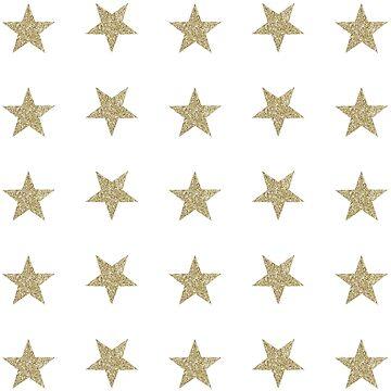 Star Set Minis - Gold Glitter by rracheell