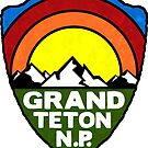 Grand Teton National Park Wyoming by MyHandmadeSigns