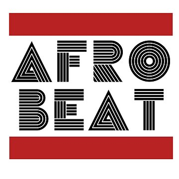AFRO BEAT - BLACK WHITE RED, an ode to Fela Kuti by MelanixStyles