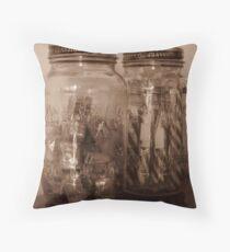 Jars of Candy Throw Pillow