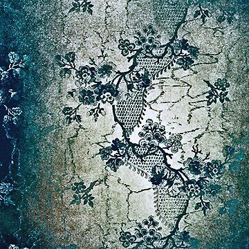 Vintage,rustic,floral,lace,wallpaper,grey,belle epoque,victorian,elegant,chic,modern by love999