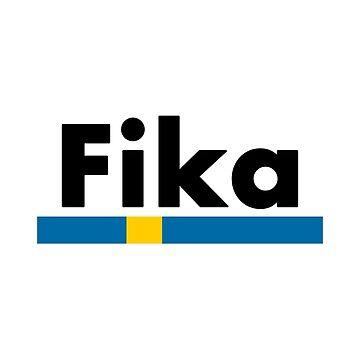 Fika Sweden Flag by lukassfr