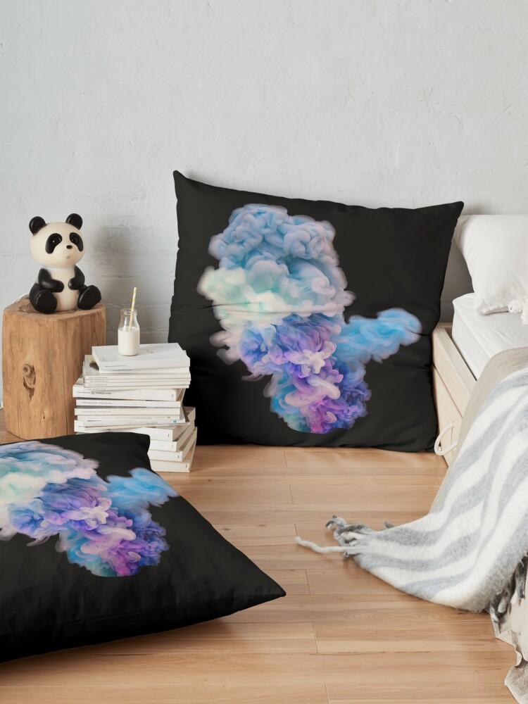 Alternate view of Colour Explosion Floor Pillow