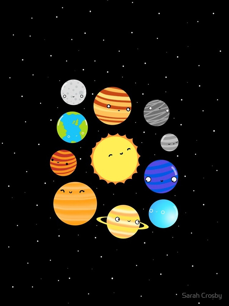 The Solar System by DIKittyPants