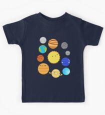 Camiseta para niños El sistema solar