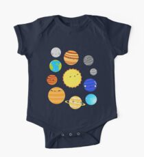 The Solar System Short Sleeve Baby One-Piece