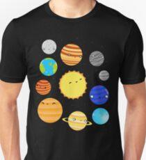 Camiseta ajustada El sistema solar