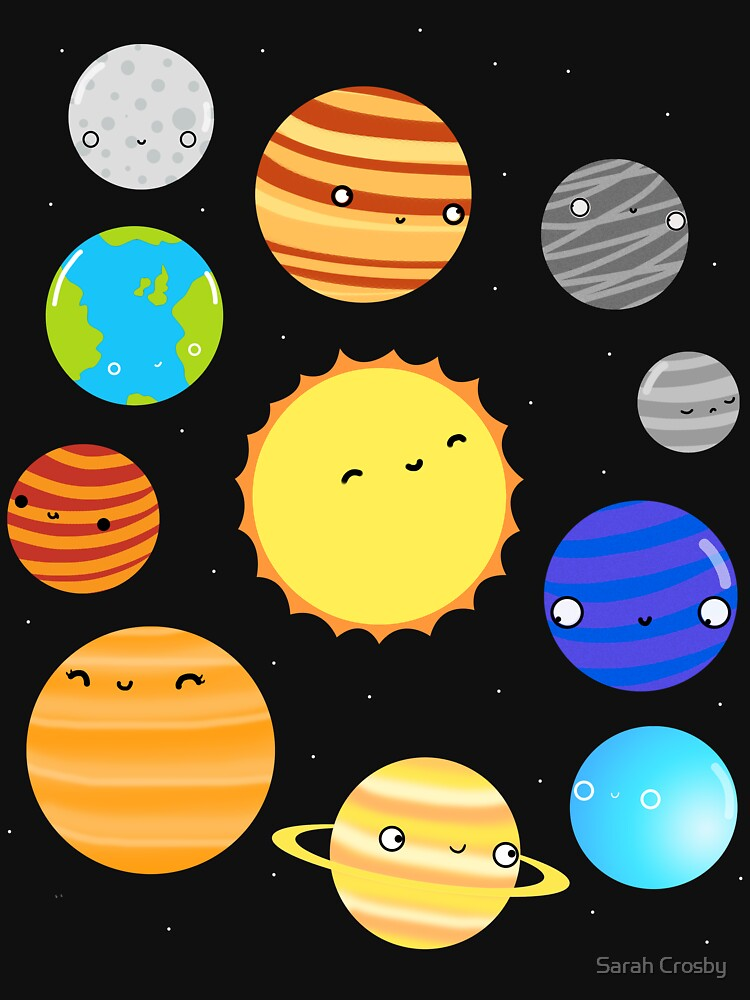 El sistema solar de DIKittyPants