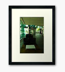 Deserted Office Building Foyer Framed Print