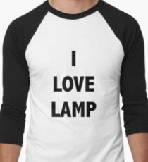 I LOVE LAMP Men's Baseball ¾ T-Shirt