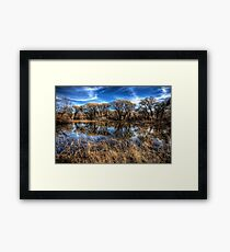 Reflection Cove Framed Print