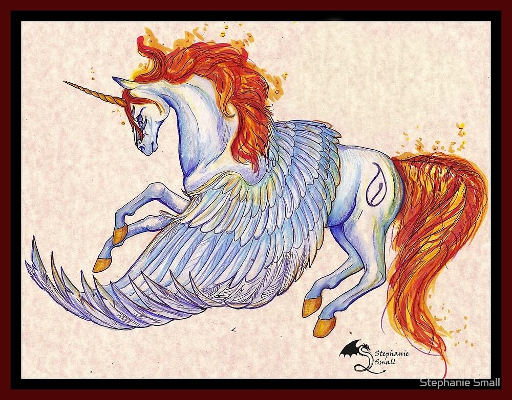 Malamour HARPG Mare Winged Unicorn Pegacorn Horse by Stephanie Small