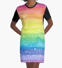 I Believe in Magic Graphic T-Shirt Dress