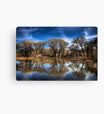 Willow Creek Cove Canvas Print