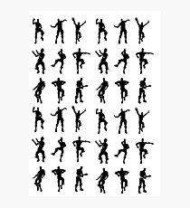 Dancing Emotes Photographic Print