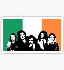 Derry Girls Irish Flag Sticker