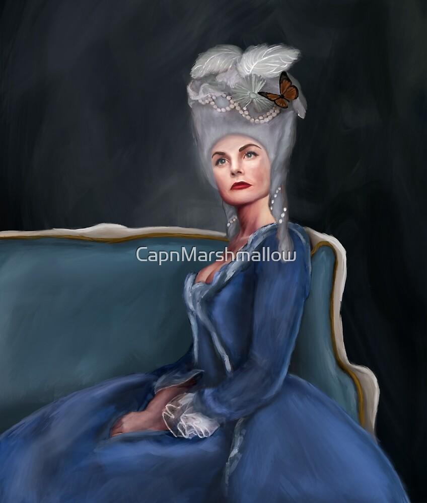 Jennifer Morrison as Marie Antoinette by CapnMarshmallow