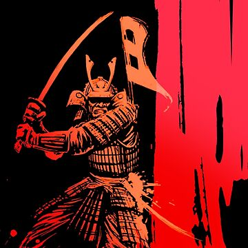 Red Samurai by awesomeprints