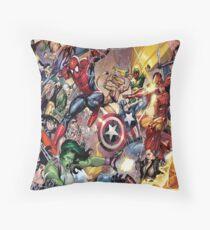 Super Heroes Comic Floor Pillow