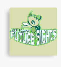 Ilex Forest Future Sights: Celebi Sports Logo Canvas Print