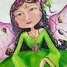 The flower fairy by Ivana Pinaffo