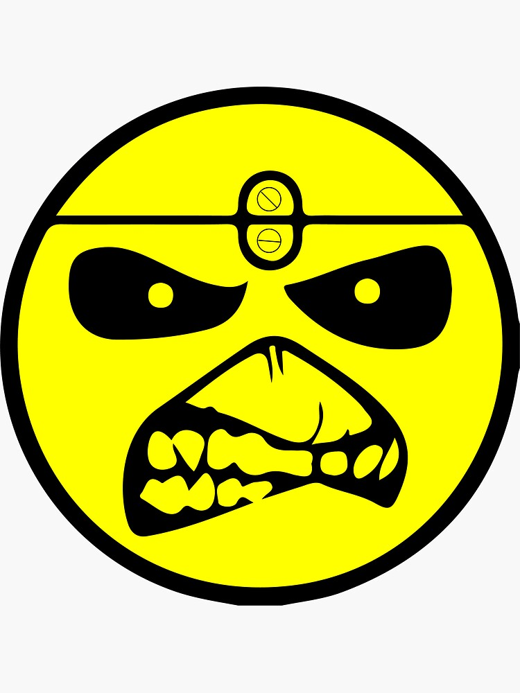Iron Maiden - Eddie der Emoji von buick49