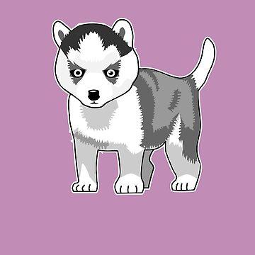 Siberian Husky by denip