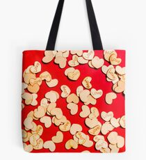 Wooden notes of red sentiment Tasche