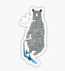 Bear Sesh Sticker