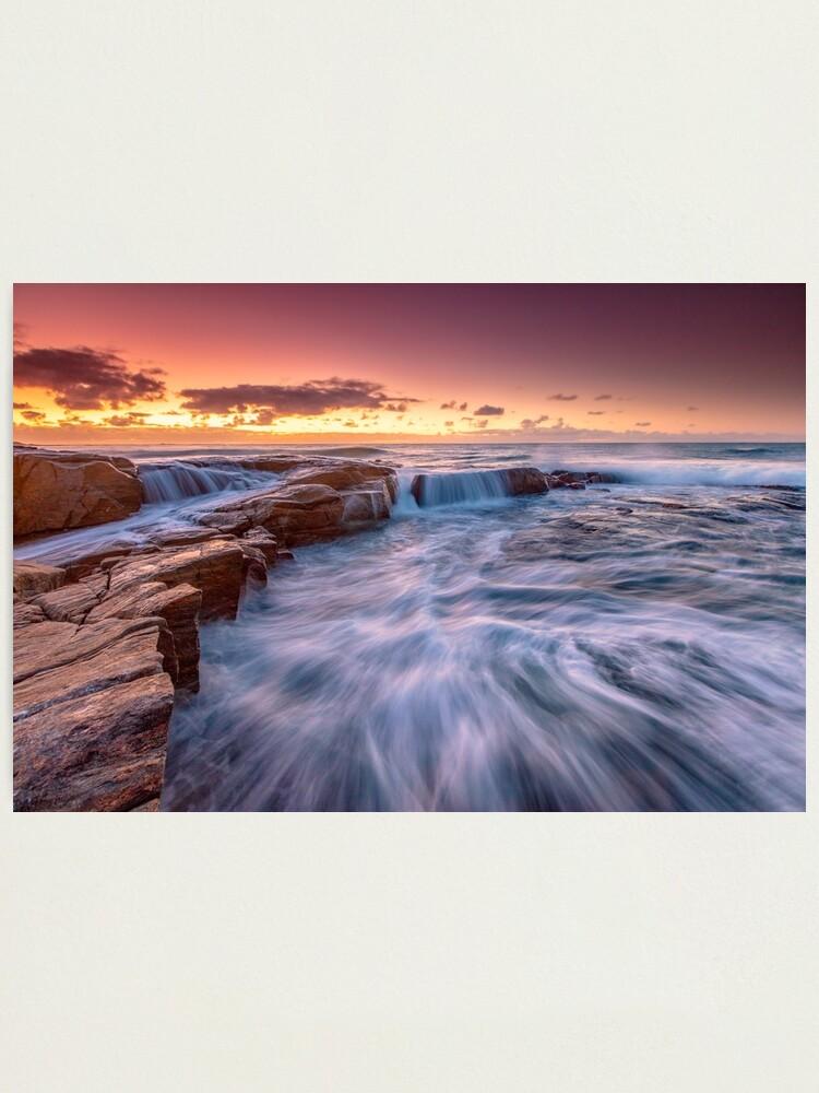 Alternate view of Cowaramup Bay Sunset Photographic Print