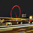 Speeding past the wheel. by JLaverty