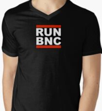 RUN BNC Men's V-Neck T-Shirt