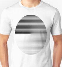 oval stripe tee for black shirt T-Shirt
