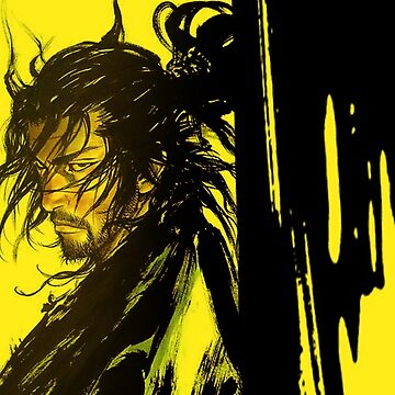Yellow Samurai by awesomeprints