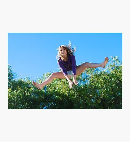 Leap Frog Photographic Print
