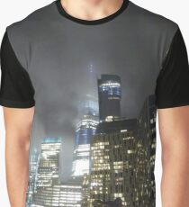 #skyscraper, #cityscape, #tower, #street, #sky, #road, #vertical, #colorimage Graphic T-Shirt