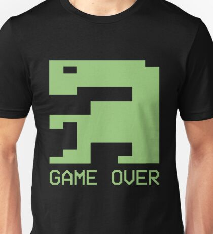E.T. Atari Game Over 1982 Video Game T-shirt