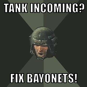 Warhammer Advice Guardsman on Tanks by Purpleandorange