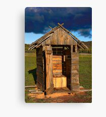 Oxley Downs Dunny Canvas Print