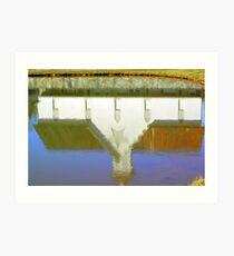 Reflection - Star Barn - Middletown, PA Art Print