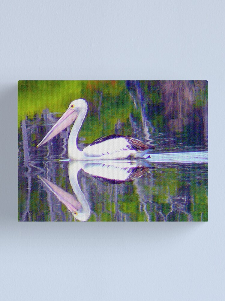 Alternate view of Pelican Path. Canvas Print