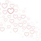 Valentines Hearts by Richard Horsfield