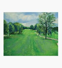 Fairway to the 11th Hole Photographic Print