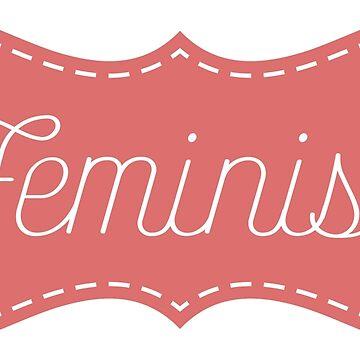 """Sewing"" Feminist Sticker by feministshirts"