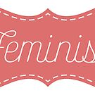 """Sewing"" Feminist Sticker by feministshirts"
